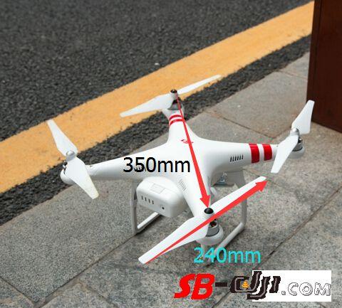 常规布局多旋翼轴距与螺旋桨适配简单算