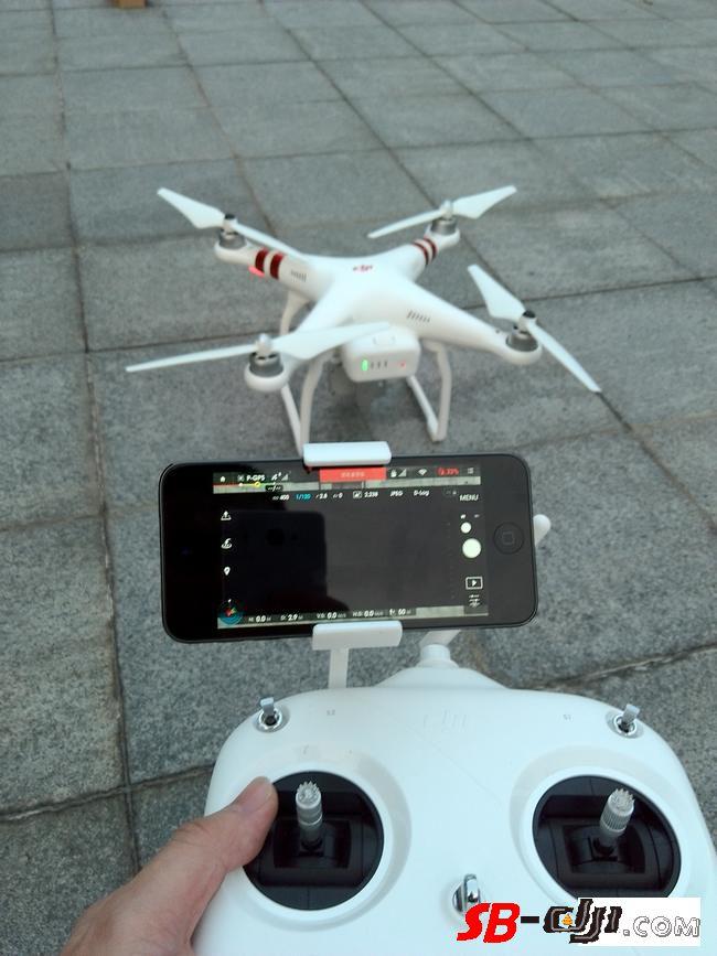精灵3S飞控两次丢图丢星,420米手动飞回还丢图传