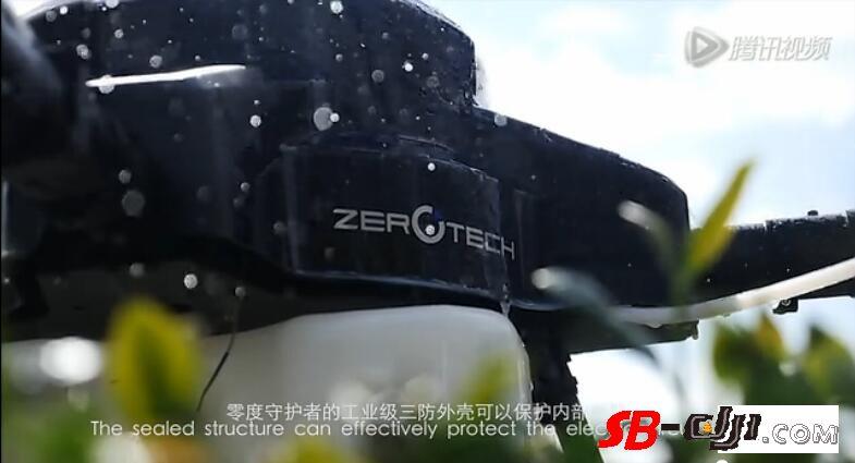 "ZEROTECH 零度智控""守护者""Z10农业无人机"