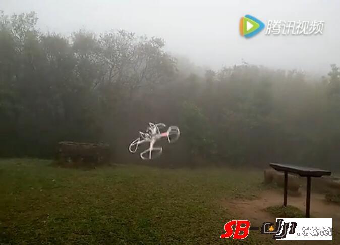 高清晰视频--精灵3近距离悬停2分钟后射桨~香港马鞍山