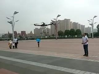 广场飞农业喷洒多旋翼酿事故