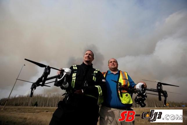 加拿大调查史上最严重森林大火新助手:无人机
