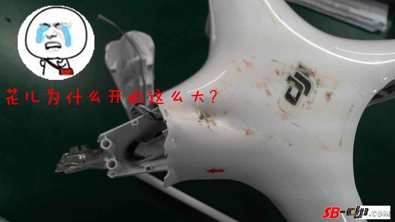 精灵4飞太低被车撞,修飞机好贵啊!炸懵逼了!