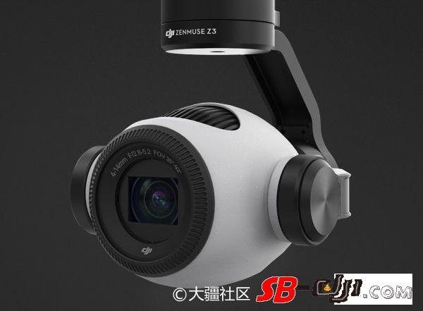 大疆推出首款变焦云台相机禅思Zenmuse Z3