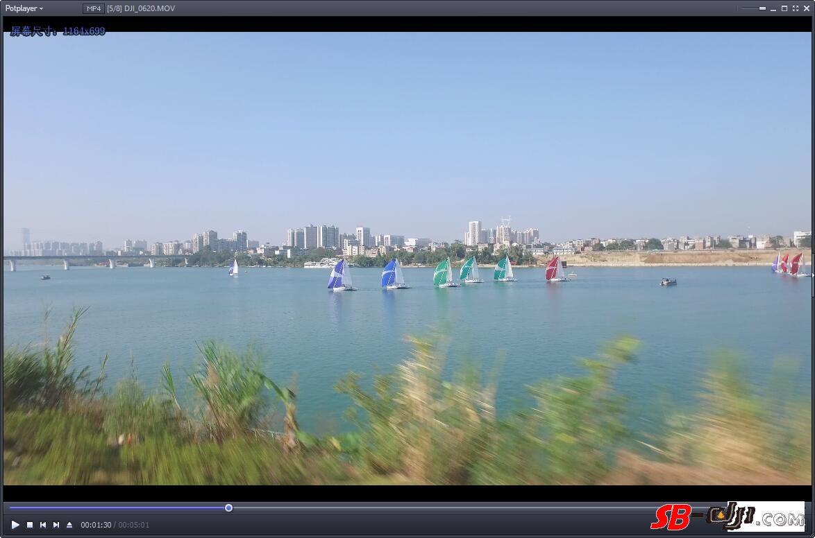 小悟航拍帆船赛遭遇空中惊魂,猜猜看炸了没