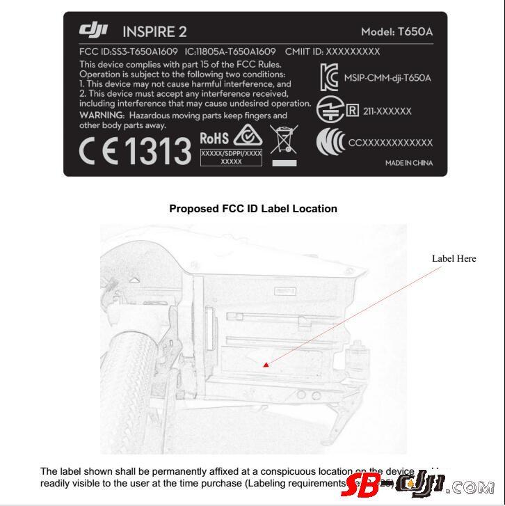 DJI Inspire2 大疆 悟2 电池、充电管家谍照曝光