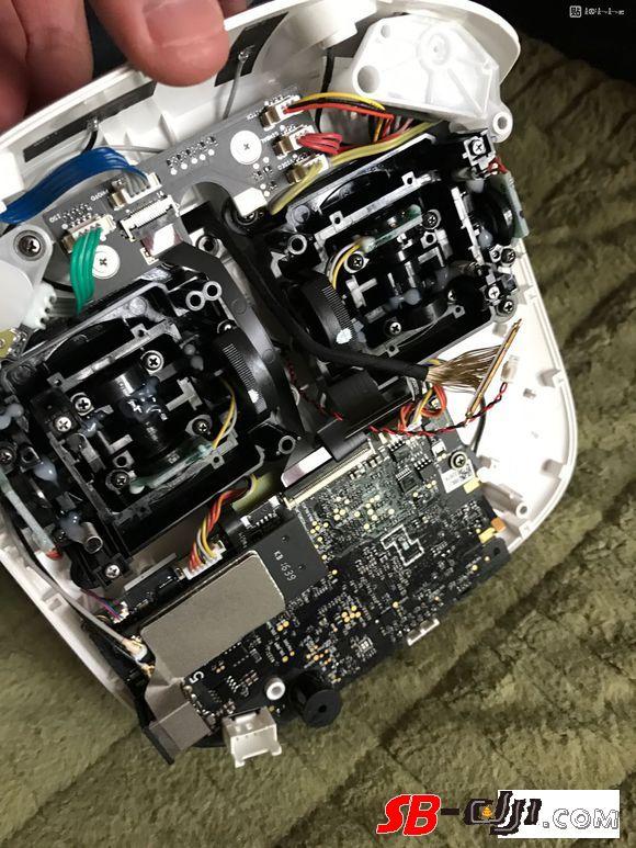 拆解精灵4pro+遥控器