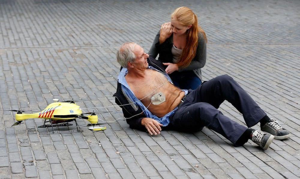 瑞典医学团队为无人机配备除颤器便于心脏复苏急救