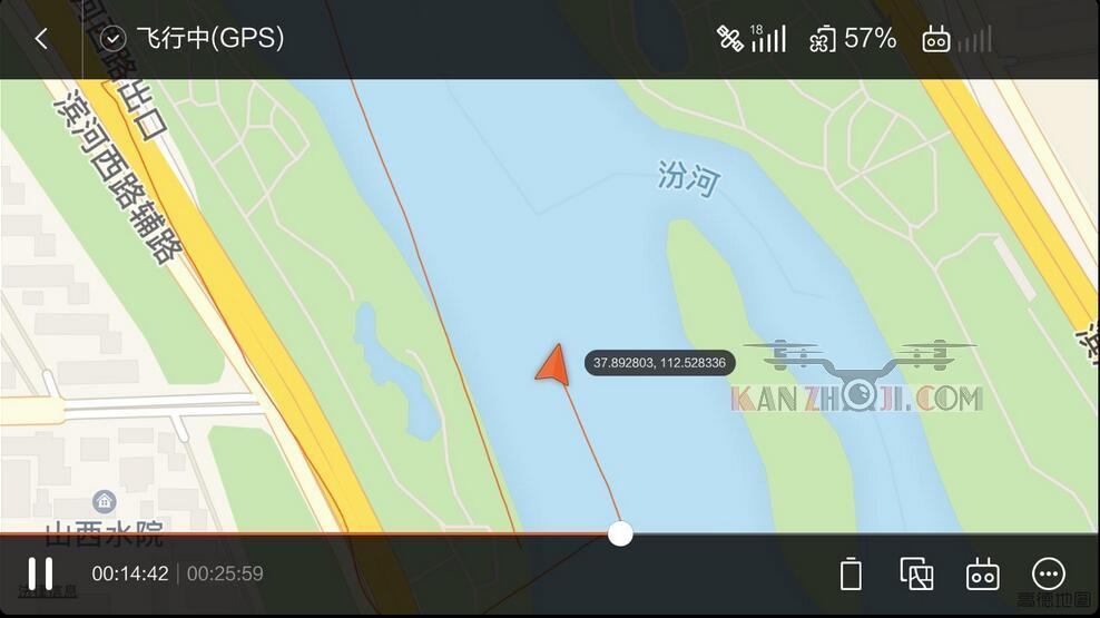小米无人机意外掉河里溺水失踪。。。安息吧!