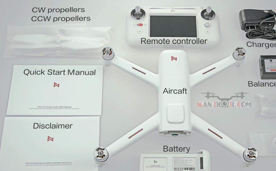Xiaomi 飞米A3无人机开箱及试飞视频