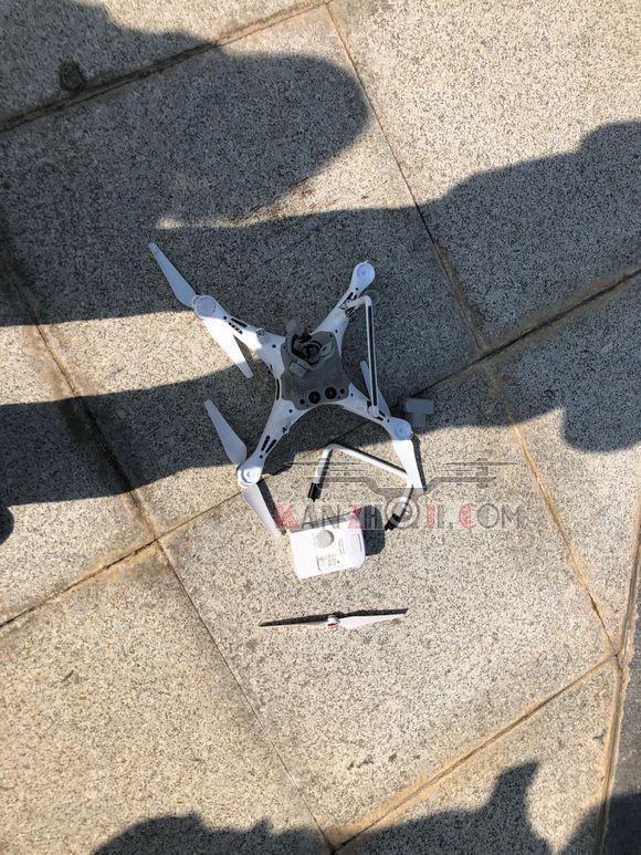 我的精灵4pro已经过保修,然后飞着空中自动断电掉下来了