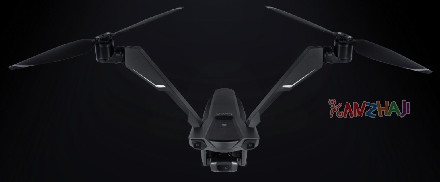 极具突破,消费级双旋翼航拍无人机 零零科技V-Coptr Falcon