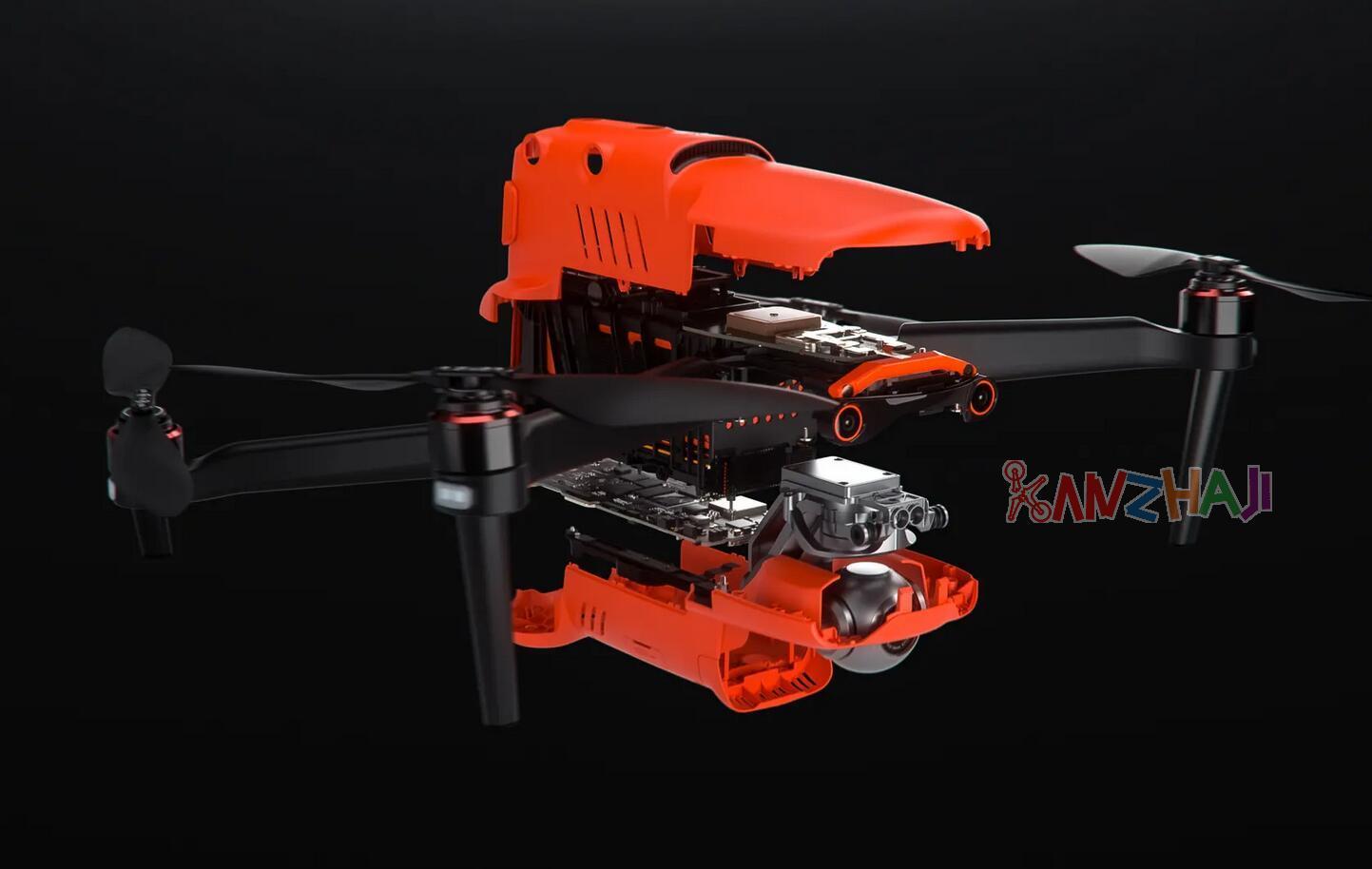 撬动消费级无人机市场 首台8K折叠无人机Autel EVO II