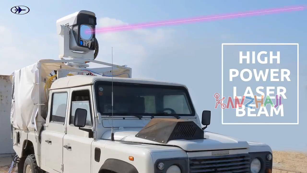 以色列反无人机技术:穹顶激光系统击落DJI Phantom3无人机
