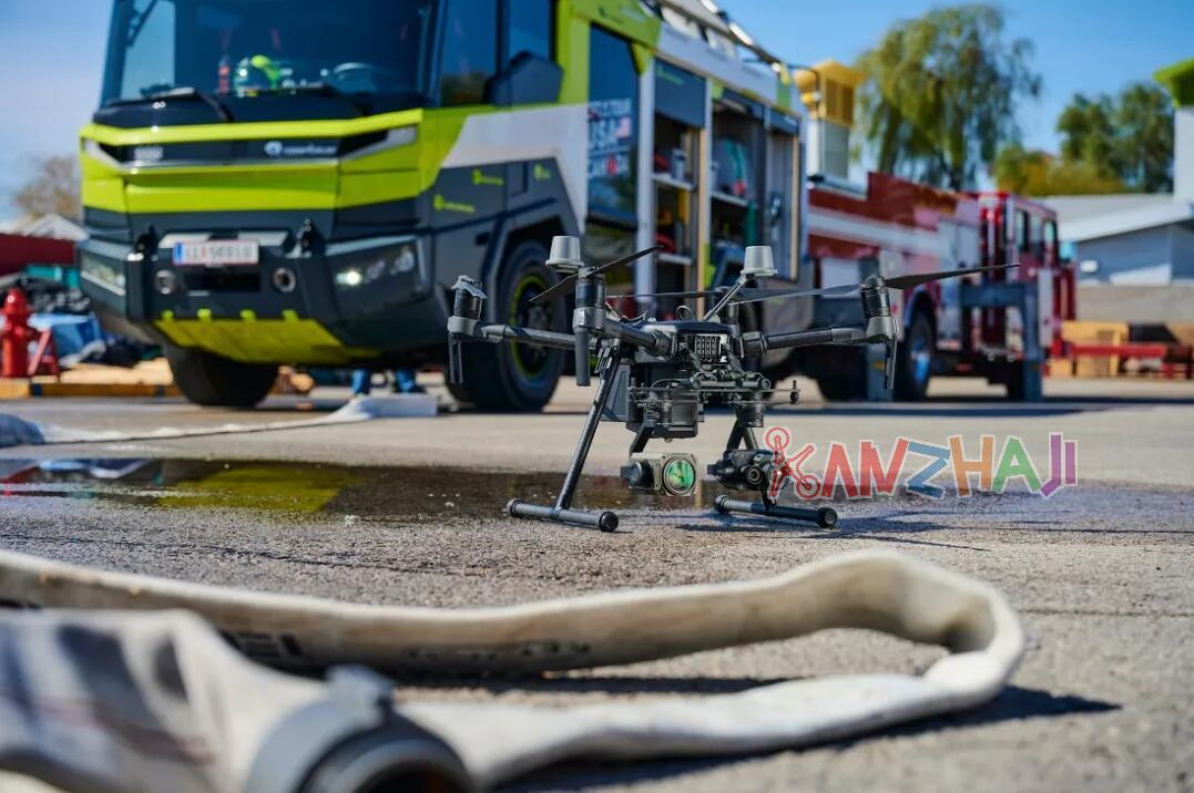 无人机配消防车,大疆与全球出口量最大的消防车制造商达成战略合作