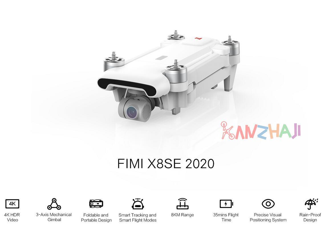FIMI 飞米悄然更新X8SE,2020款的8KM图传来了