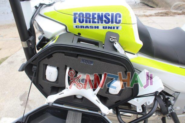 澳大利亚警用摩托配上大疆无人机,交通事故处理快了80%