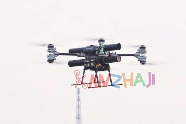 我国成功开展海拔4300米无人机灭火系统试验