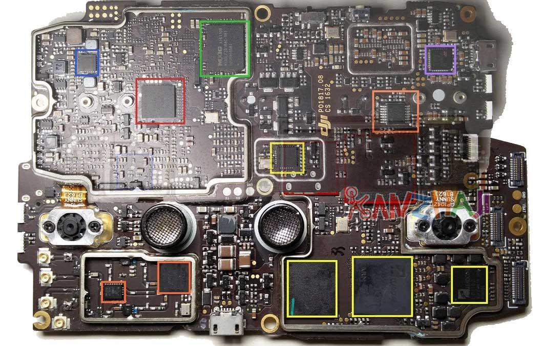 DJI 大疆创新无人机用哪些芯片?可能是最全资料!