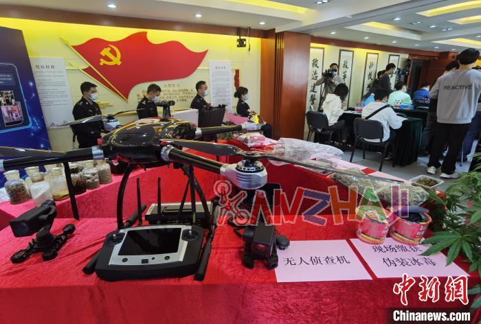 污水检测、无人机锁定 广州侦破毒品案件过千宗