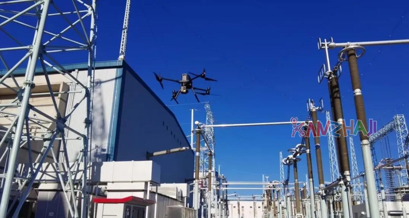 大疆与南网超高压强强联手,在世界第一换流站实现无人机全自动巡检新模式