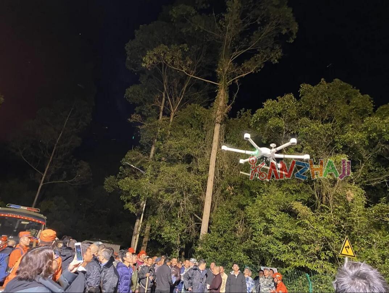 """无人机化身空中""""堡垒"""",移动天眼助力森林消防救援"""