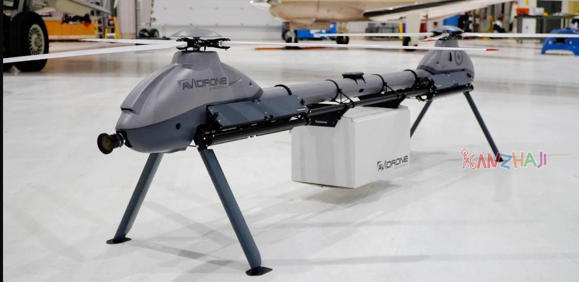 Avidrone公司在IDEX 2021上展示210TL串联双桨无人机