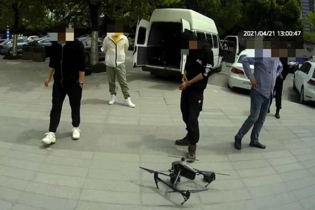 """通过非法破解,杭州一公司在禁飞区""""黑飞""""无人机 被抓还罚两万!"""