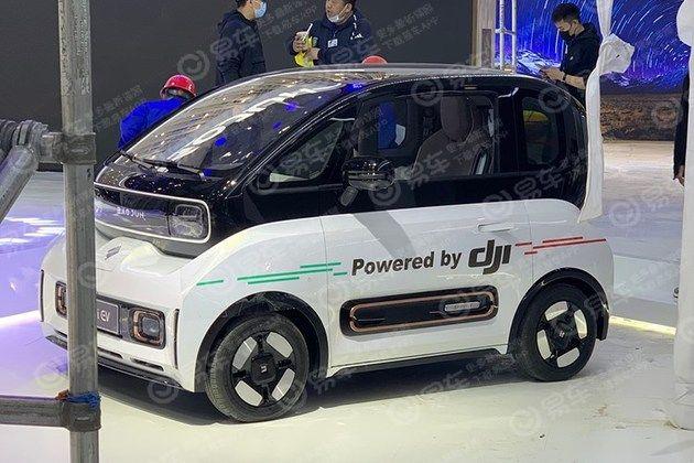 2021上海车展探馆:大疆车载落地新宝骏KiWi EV
