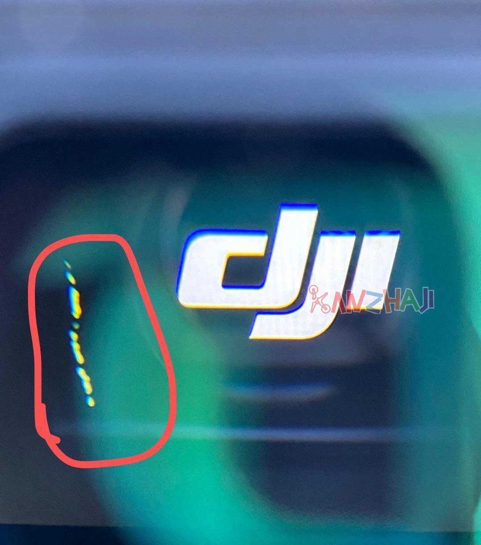 DJI fpv v2眼镜突然出现坏点