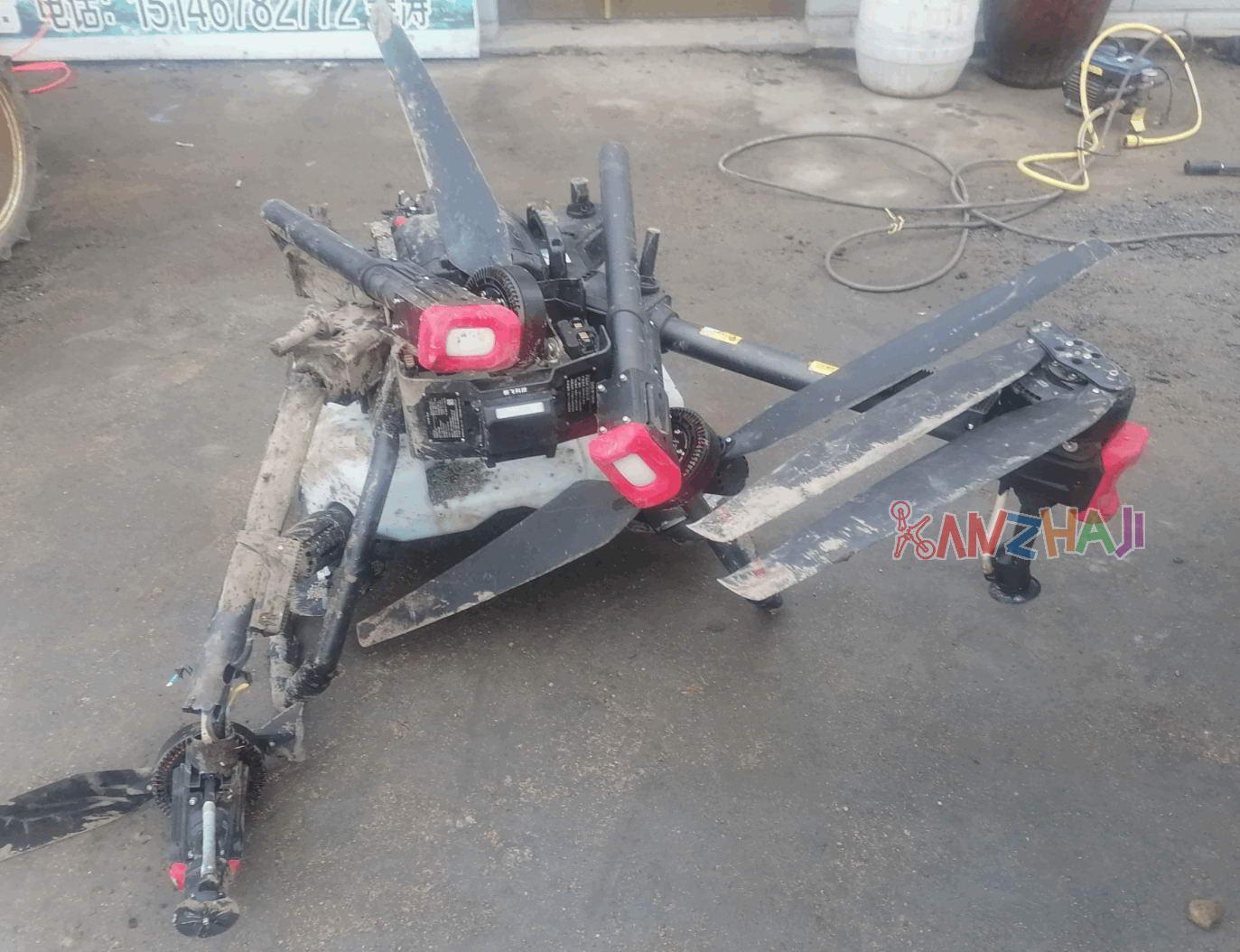 网曝极飞农业无人机P80频炸机 机主退不掉、卖不出、修不起