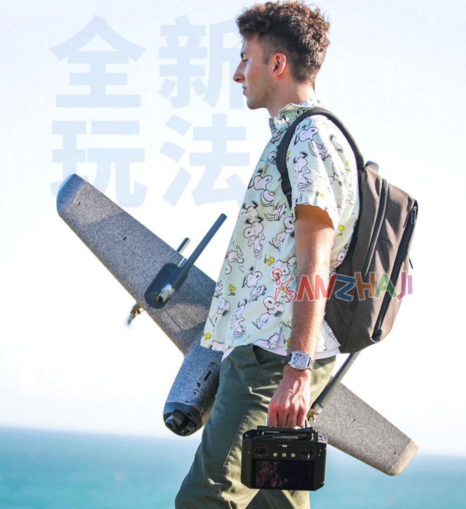 禾启智能(HEQ)垂直起降固定翼发布Swan-K1 Pro带屏控版本