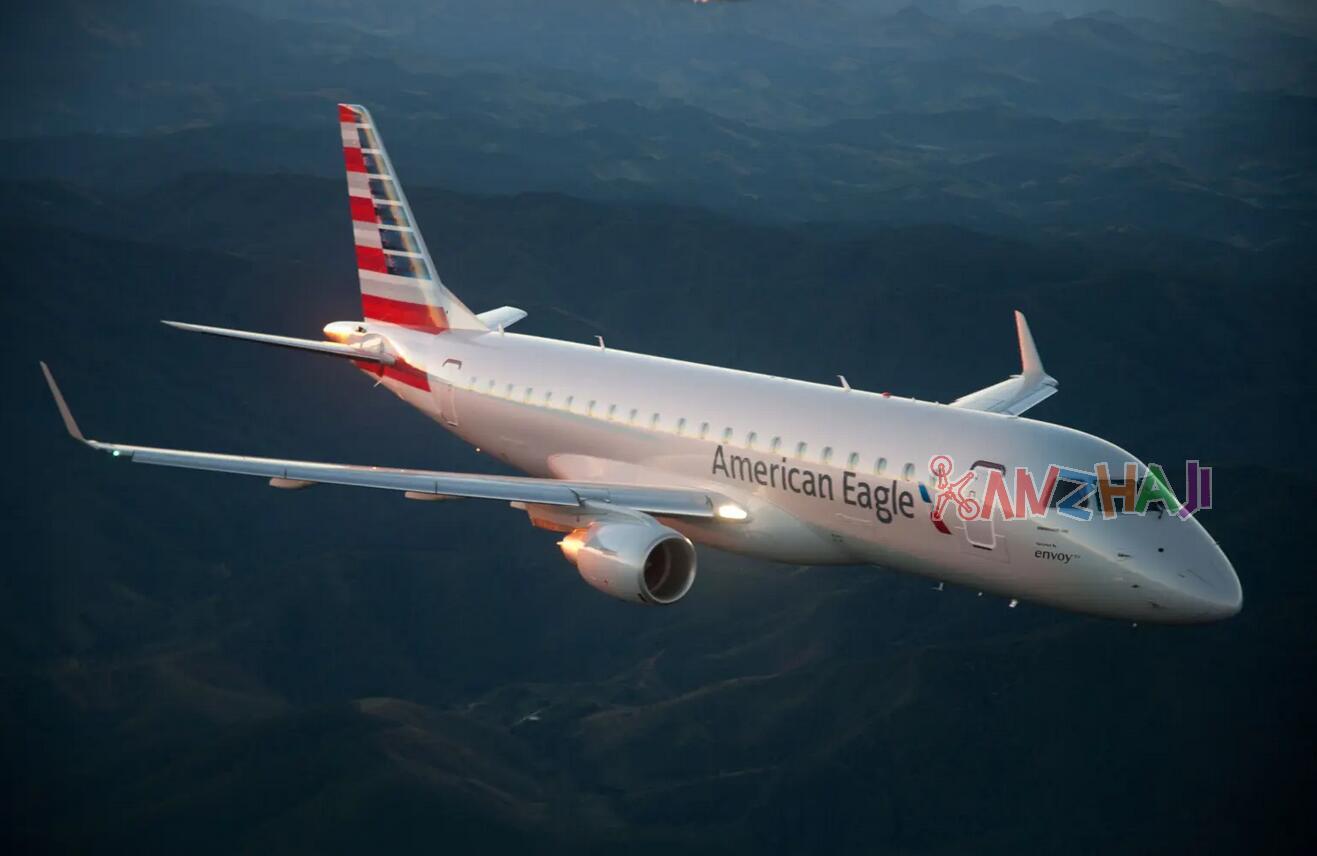 Envoy Air特使航空Embraer 175客机从芝加哥起飞后撞上无人机