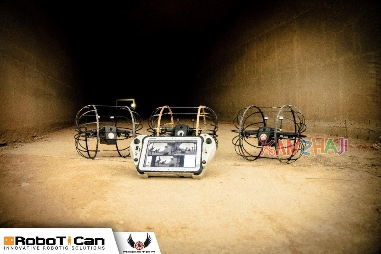 Robotican公司向美国特种作战司令部交付室内无人机系统