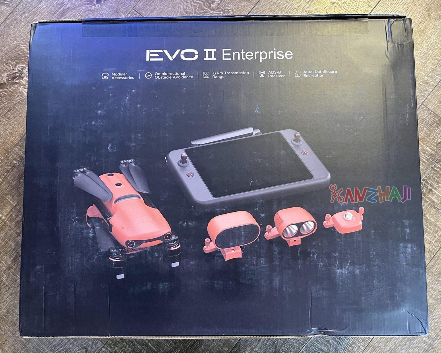 Autel道通智能EVO II PRO企业版无人机开箱