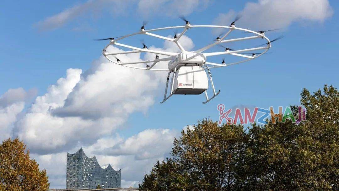 Volocopte完成VoloDrone电动货运无人机作业演示